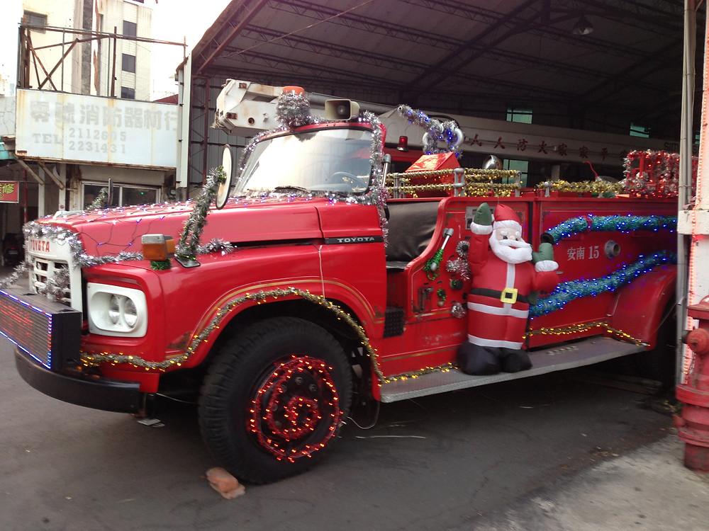 耶誕消防車