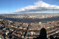 Bird view from Prudential Building