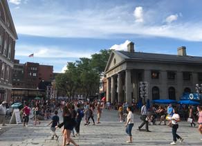 如都市生活巷弄的場域|開放式商場領風潮的 Quincy Market