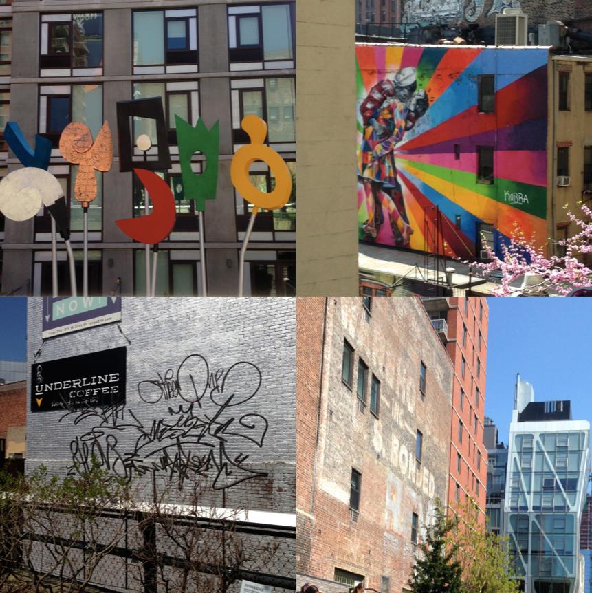 新舊住宅大樓|塗鴉藝術