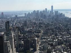 Bird view from Empire State Bldg