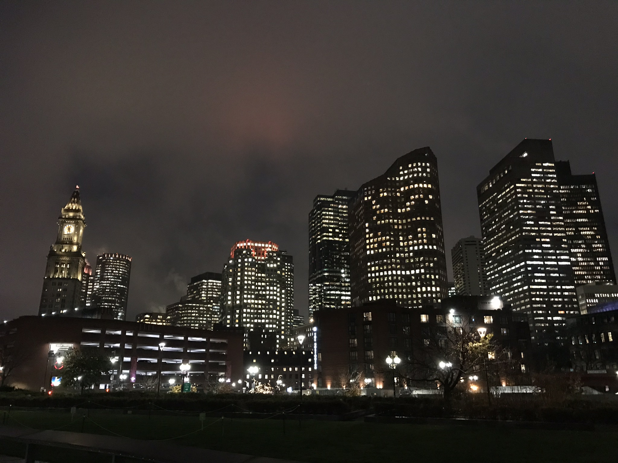 Financial District of Boston