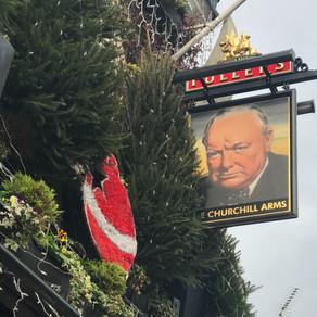 邱吉爾印象|酒館與莊園