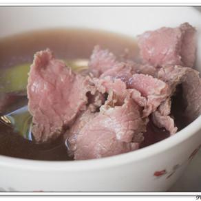 美食~看見台南過往的國際化與現在的在地化---牛肉湯