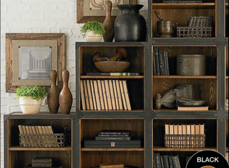TIPS FOR RESTYLING YOUR BOOKSHELVES