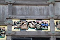 nikko monkeys detail