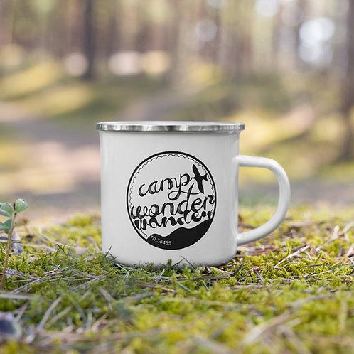 Camp Wonder Wander Enamel Mug