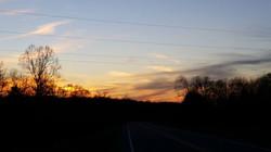 amazing winter sunsets