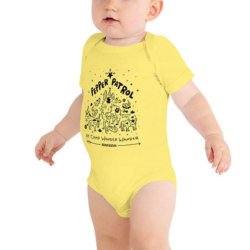 Pepper Patrol! Baby short sleeve one piece