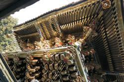 nikko gate detail, look up!