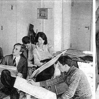 Bauhaus School Classroom
