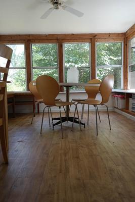 3 season porch craft room