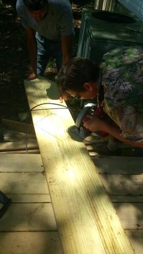 using power tools