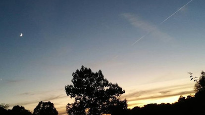 My evening chores are at dusk. Last nigh