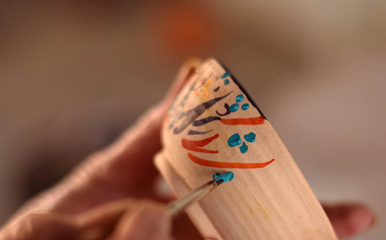 find joy in quiet crafts
