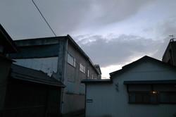 kitakata cloudy sunset