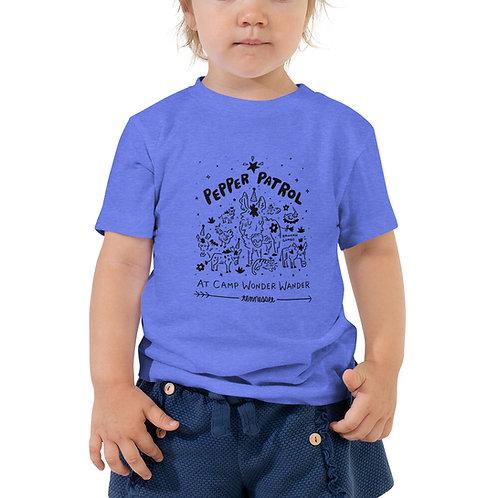 Pepper Patrol - Toddler Short Sleeve Tee