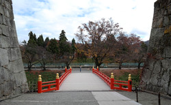aizu castle bridge