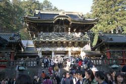 nikko gate crowd