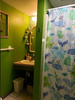CampWonderWander Hall Bathroom