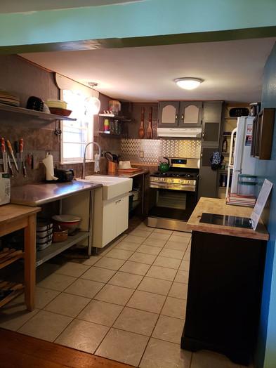 CampWonderWander Kitchen