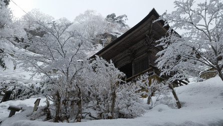 Yamadera & Ginzan-Onsen – in the magical snow