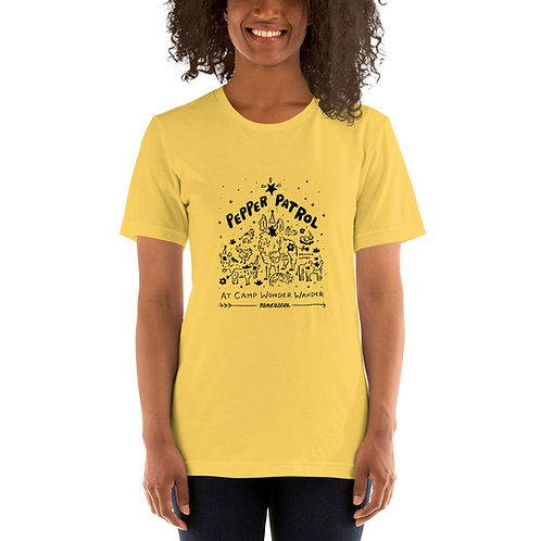 Pepper Patrol Short-Sleeve Unisex T-Shirt