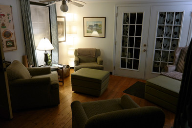 Main Lodge sitting area