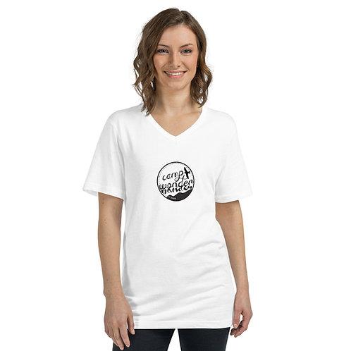 Camp Wonder Wander - Unisex Short Sleeve V-Neck T-Shirt