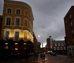 winter evening streets