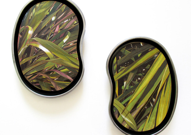 If These Royal Leaves Could Talk (Diptych)