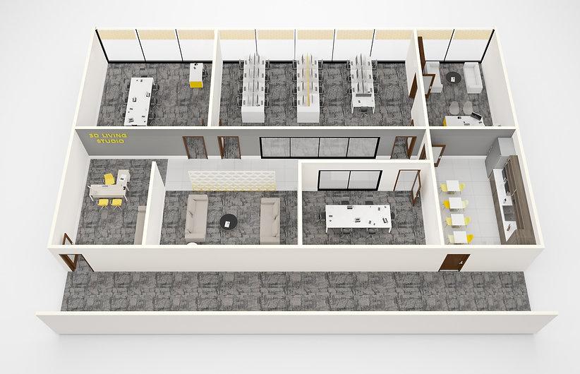 Office space for rent 3dlivingstudio_edi