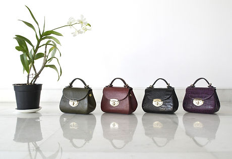 Four Leather Bags