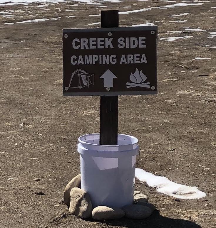 Sand Bottom Tent Camp Area