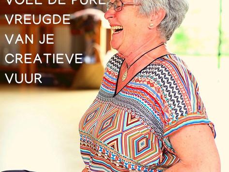 Wat onderscheidt een creatieve vrouw van een vrouw die alleen maar droomt over een creatief leven?
