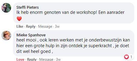 Review FB Steffi Pieters en Mieke Spanho