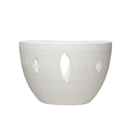Decorative Coarse Terracotta Bowl (Each one will vary)
