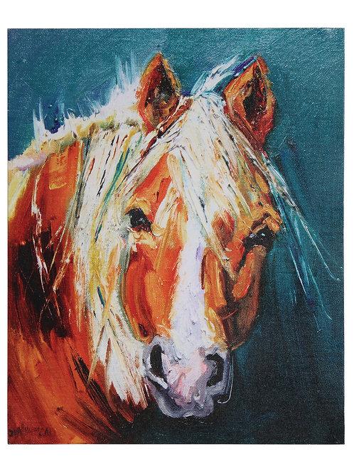 Brown Horse Canvas Wall Decor
