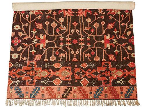 4' x 6' Woven Cotton Printed Rug