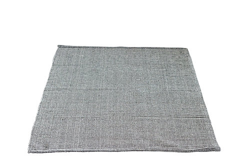 Brown 3' x 5' Cotton Woven Rug