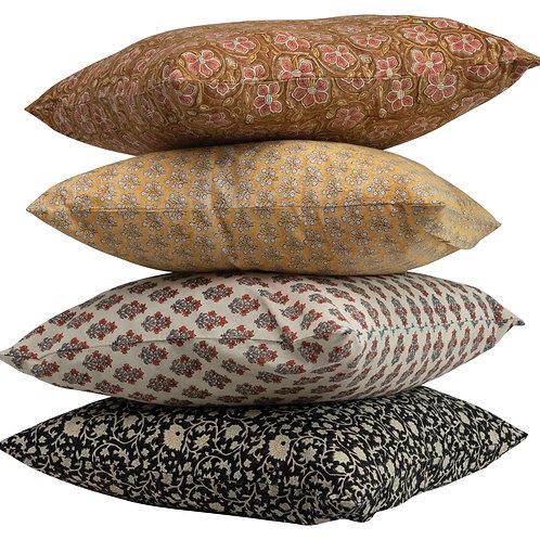 Square Cotton Pillow (Set of 4 Patterns)