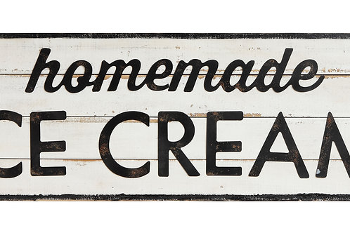 """Homemade Ice Cream"" Wall Decor"