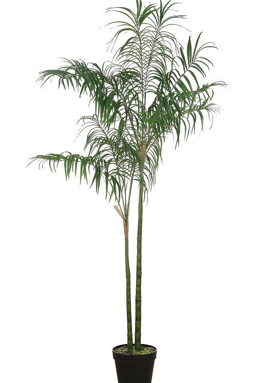 Faux Palm Tree in Pot