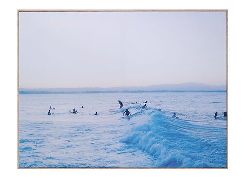 Morning Surf Swell Wall Decor