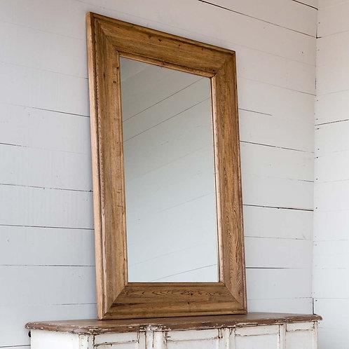 Oak Foyer Mirror