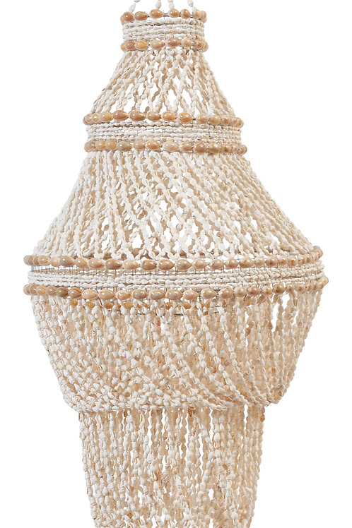 """32""""H Decorative 5-Tier Shell Canopy"""