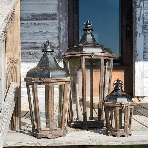 Hillcrest Lanterns. Set of 3