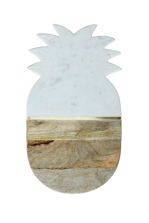Mable & Mango Wood Pineapple Board