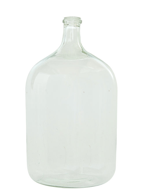 Vintage Reproduction Large Clear Glass Bottle