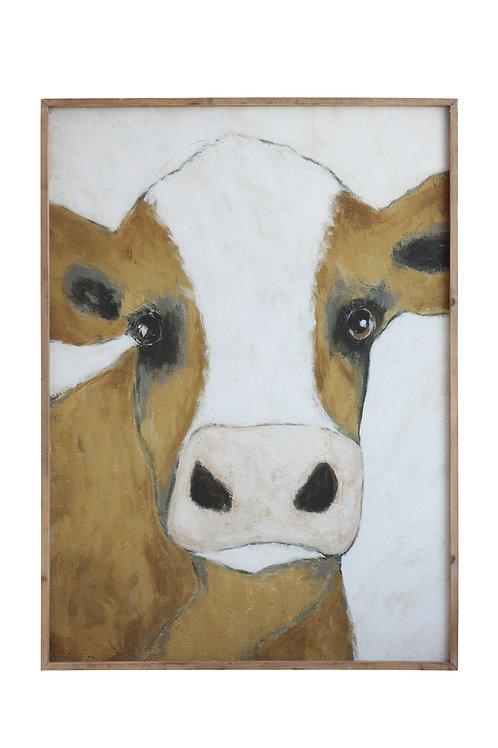 Cow Framed Wall Decor
